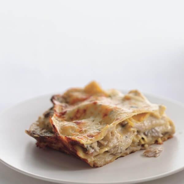 Lasagna with Mushroom