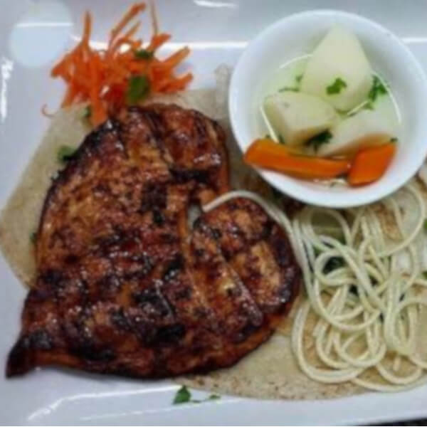 Chicken Steak + Rice + Vegetables
