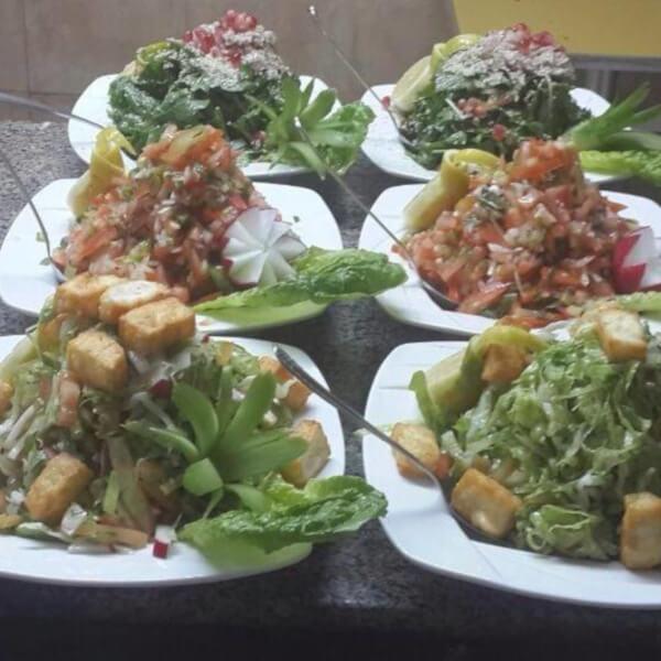 Hot Mushroom Salad