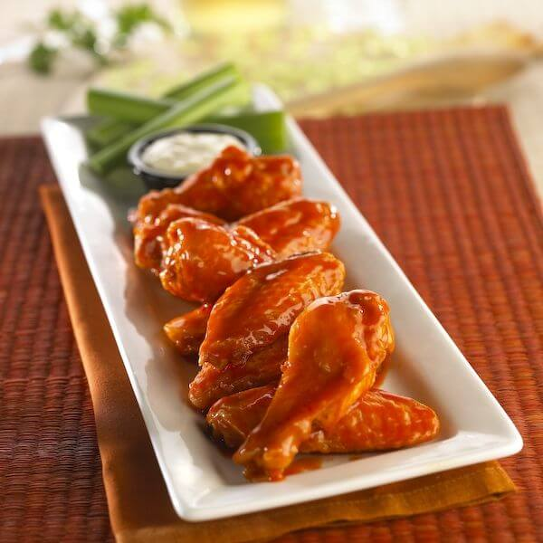 Traditional wings