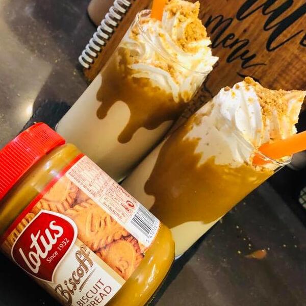 Lotus Milk Shake