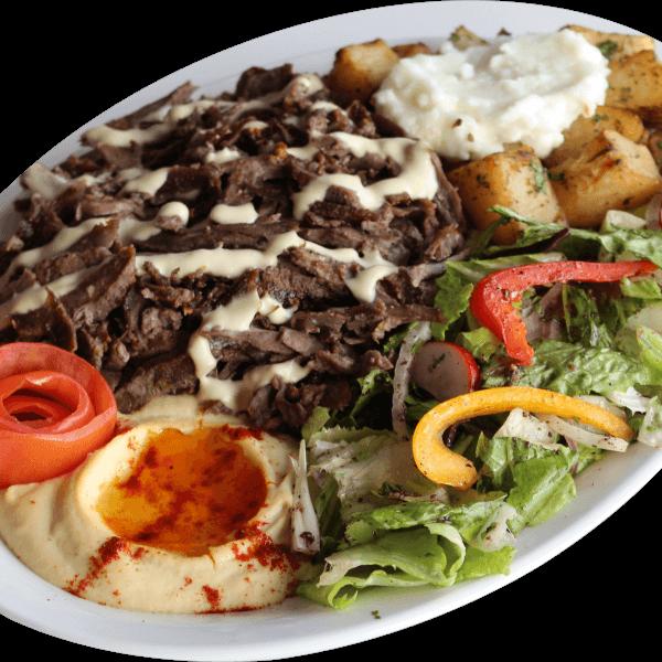 Beef Shawerma Dish
