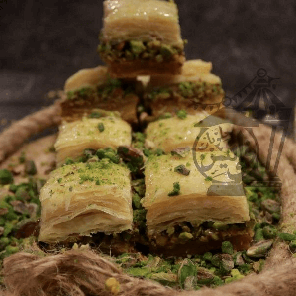 Baklawa with pistachios