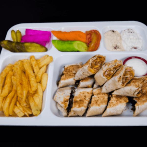 Shawarma Arabic &half meal