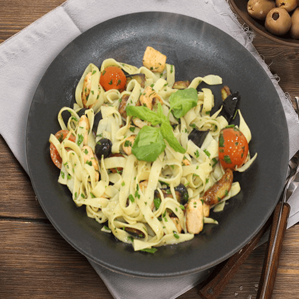 Fettuccine Sea Fruits