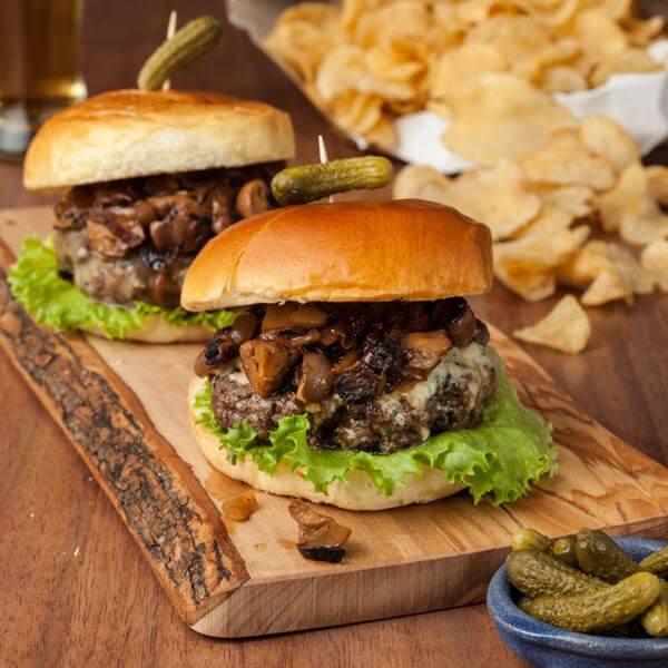 Beef Burger Mashroom 120gm