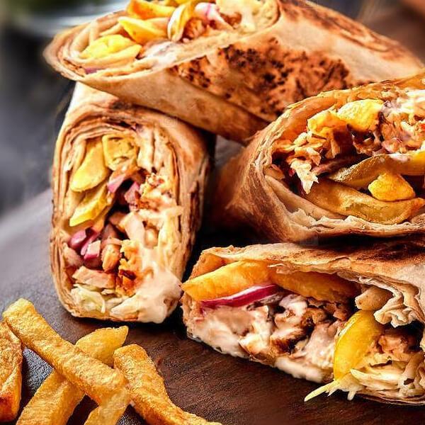 Chicken Shawerma Baked
