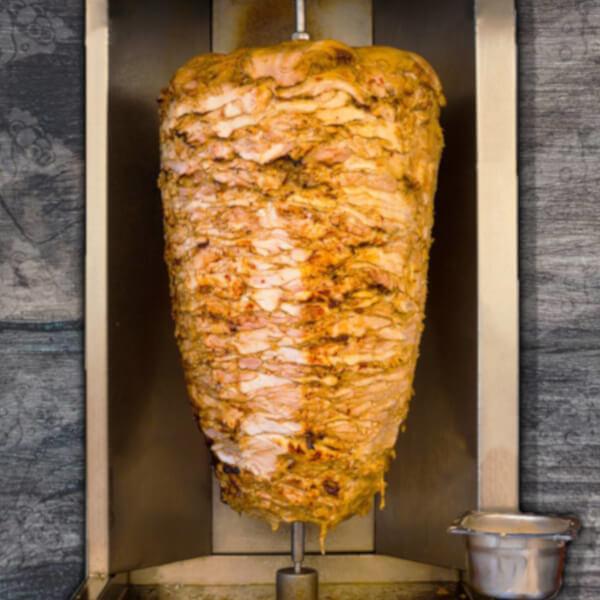 شاورما الدجاج شراك