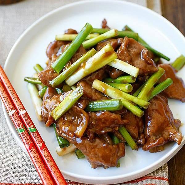 Mushroom & Bamboo Shoot Beef