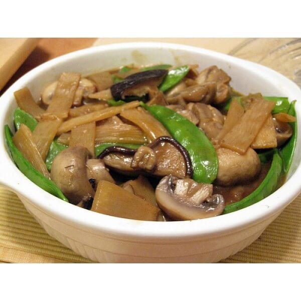 Mushroom & Bamboo