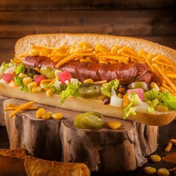 Grilled Hot Dog Sandwich