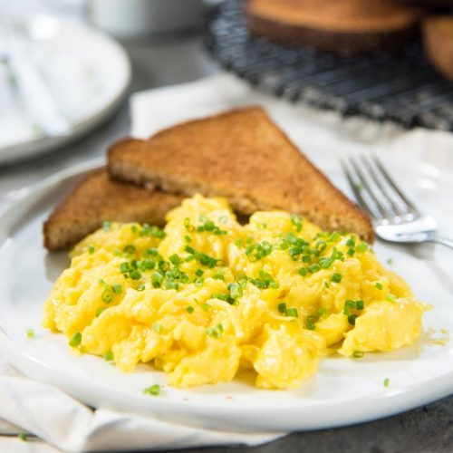 Eggs Scrambled Sun Side Up Omelet