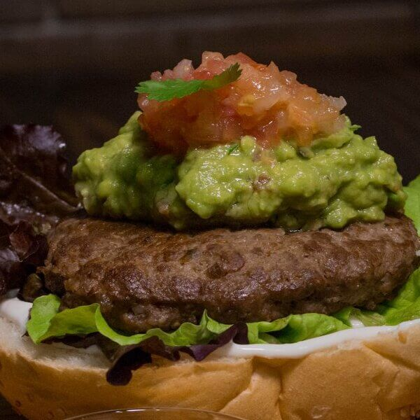 Mexican hamburger (seasonal)