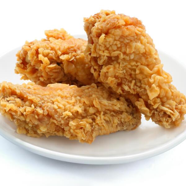 A piece of chicken