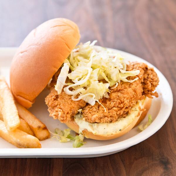 Broast Chicken Sandwich