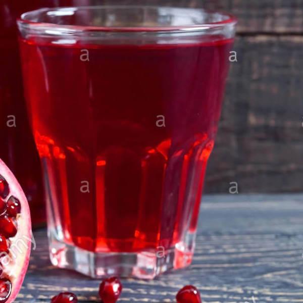 Seasonal pomegranate juices