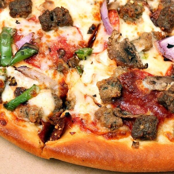 بيتزا بالجمبري