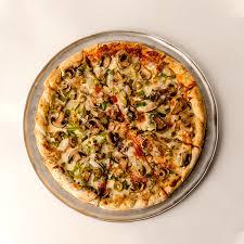 بيتزا خضار مع تونا