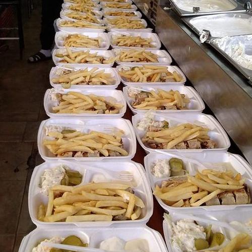وجبة حبش عربي