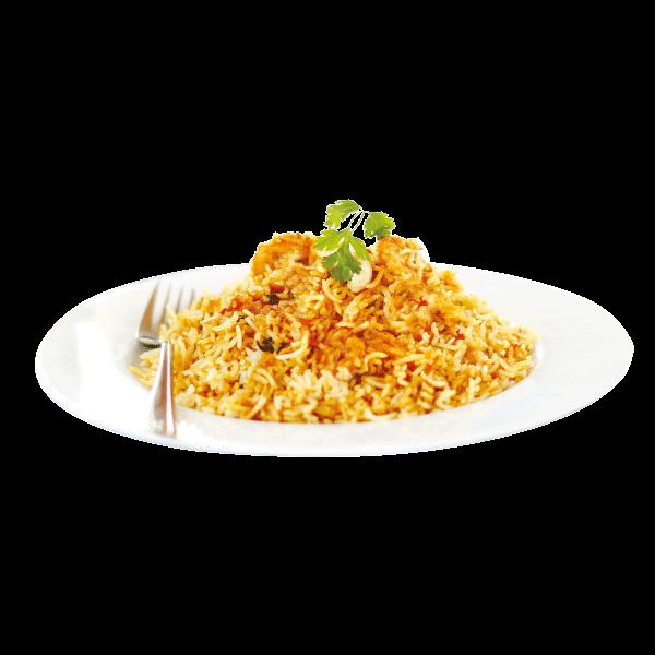 ارز برياني (يقدم أيام الخميس والجمعة والسبت فقط)