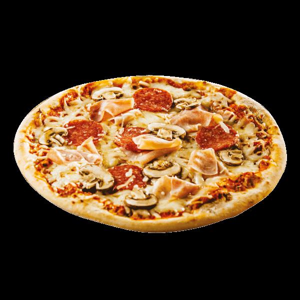 بيتزا الفطر