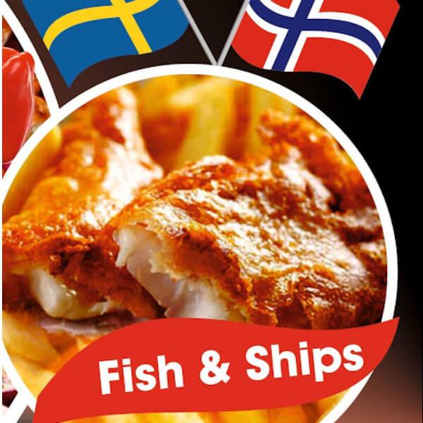 سمك مع بطاطا