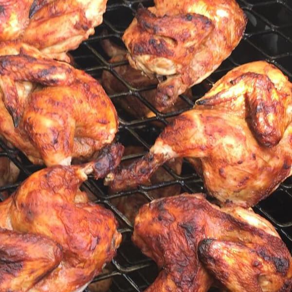 Quarter of chicken zarb
