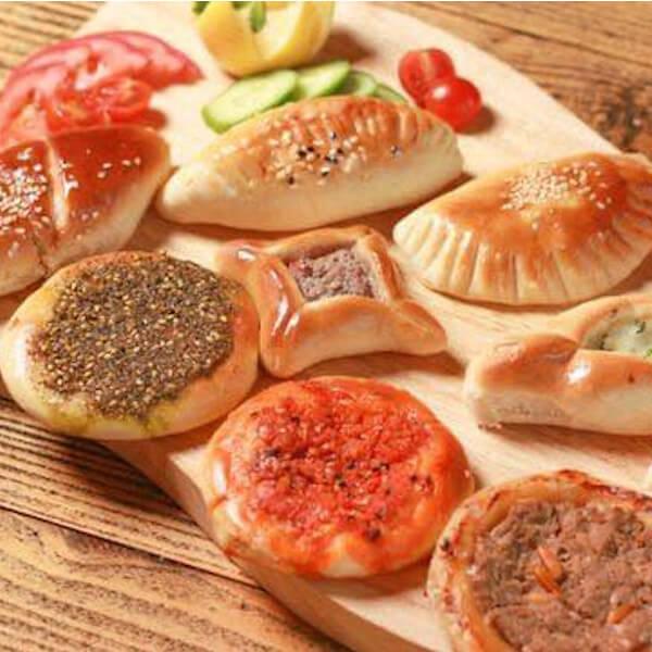 saleem effendi pastry platte