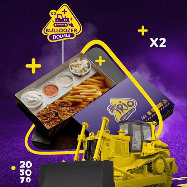 bulldozer double