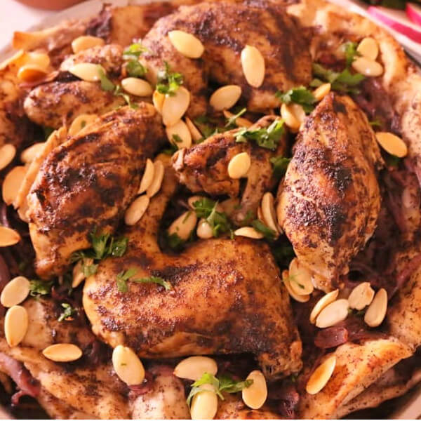 (musakhan (half chicken