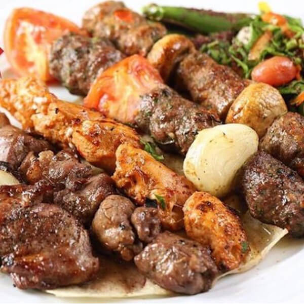 arabesque mixed grill