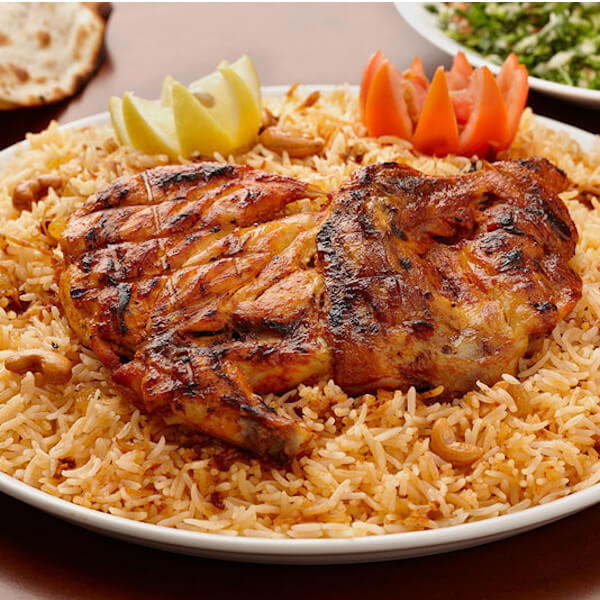 (grilled chicken (half