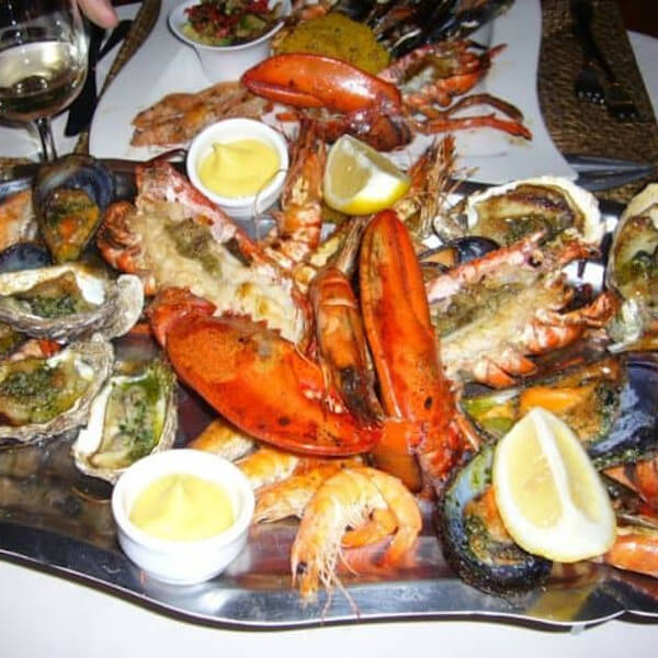 (mixed seafood dish (large / small