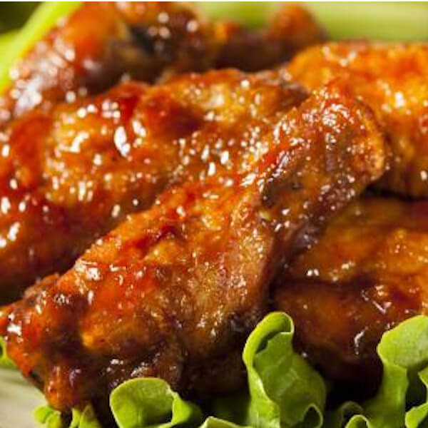 اجنحة الدجاج الحارة الحلوة