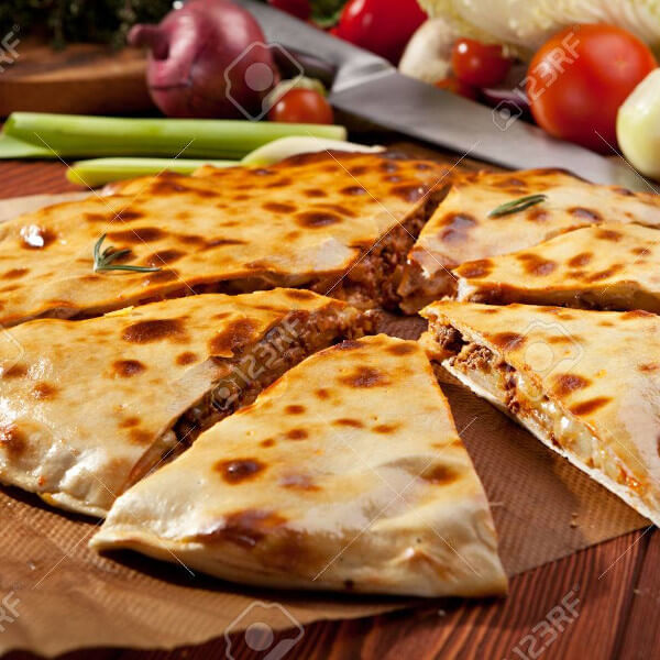 Pizza Calzone Minced Meat