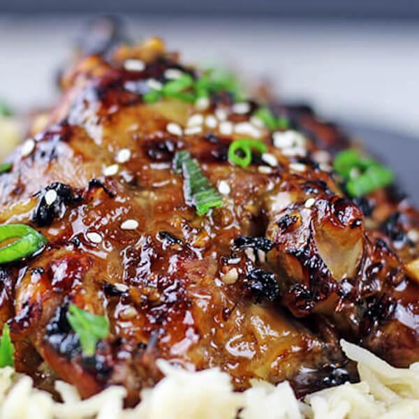 ستيك دجاج صويا صوص