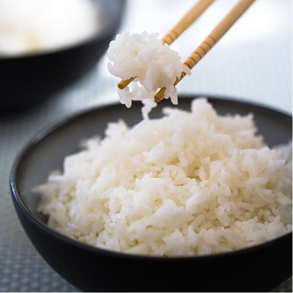 أرز أبيض