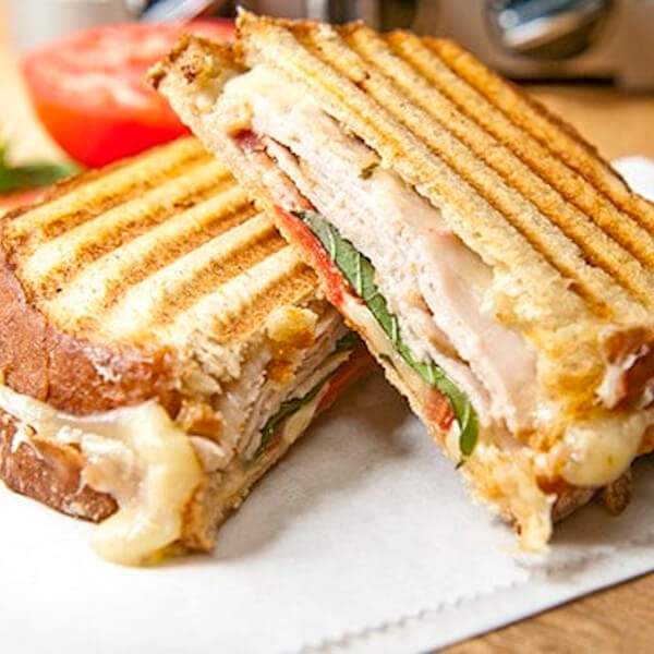 Smoked Turkey With Cheese
