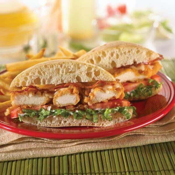 zinger sandwich