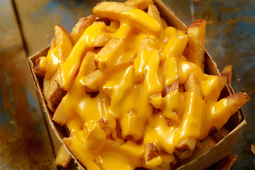 Chips with cheese