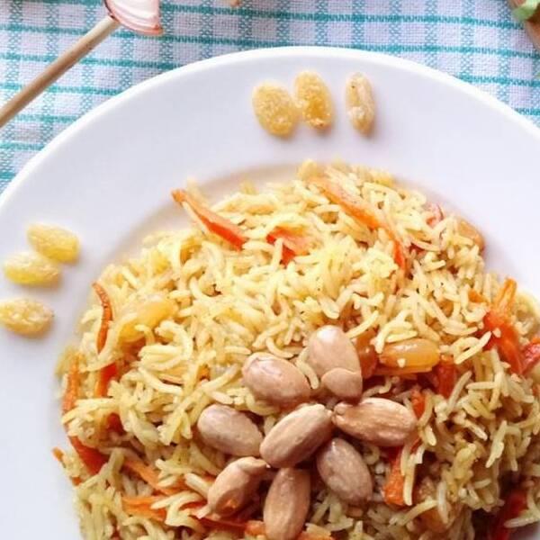 صحن أرز مبهر بخاري - لشخص واحد