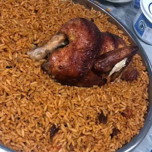 أرز بخاري + ربع دجاجة - وجبة فردية