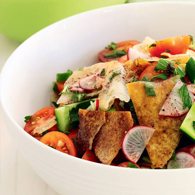 Fattoush - for 4 persons