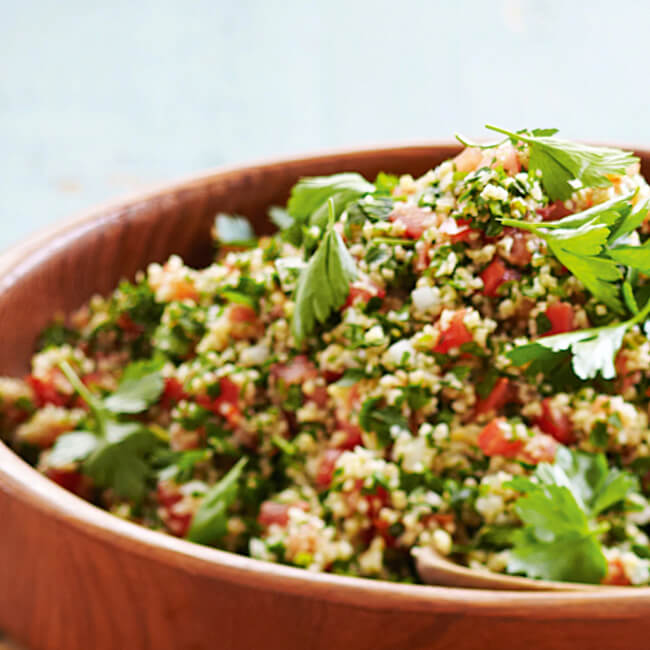 Tabbouleh - for 4 persons