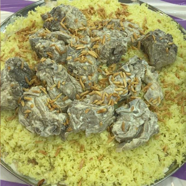 Mansaf with meat