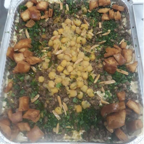 Hummus Fatteh