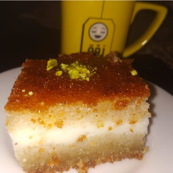 Basbousa with cream - kilo