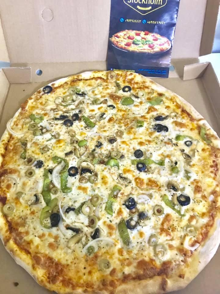 2 ببيتزا ميديوم(خضار+مرغريتا)