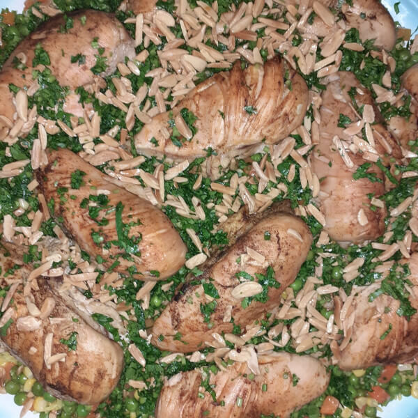 Awzy (one kilo of rice + one chicken ) - for 7 people