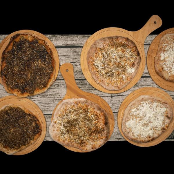 Cheese & Zaatar Manoucheh